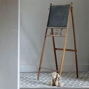 Tableau Aimanté Pour Photos : tableau noir pour enfant pliant lignedebrocante brocante ~ Dailycaller-alerts.com Idées de Décoration