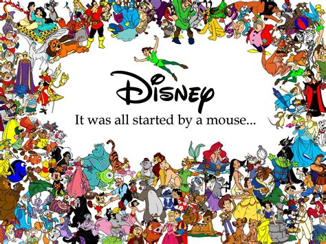 Disney Characters Wallpapers  Wallpaper Cave
