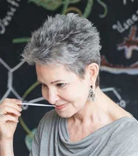 Hairstyles For Short Gray Hair   The Best Short Hairstyles