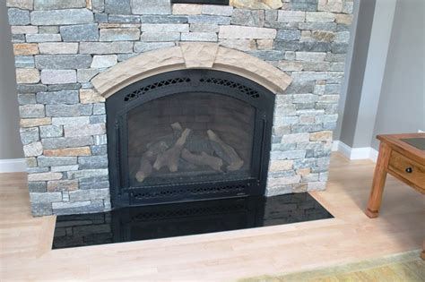 absolute black granite fireplace hearth traditional