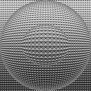 Optical Illusion Circle In Circle Digital Art by Sumit ...
