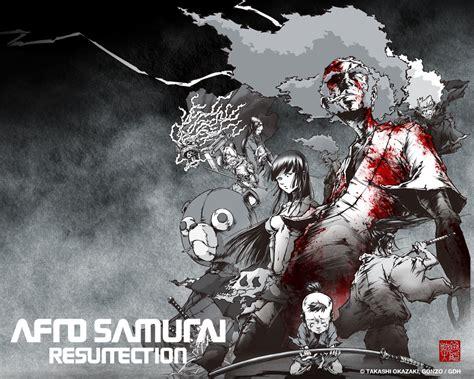 afro samurai resurrection image  android cartoons