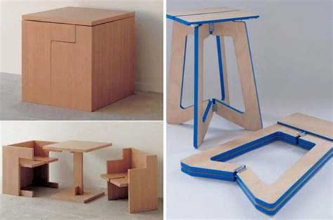 25 Cool And Clever Space-saving Furniture Designs