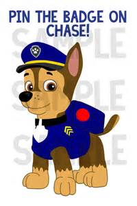 Chase PAW Patrol Badge