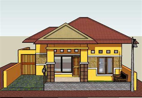 paula paulka bentuk rumah sederhana  kampung