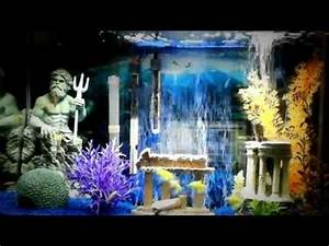 Aquarium In Wand : 29 gallon aquarium w blue led bubble wand update youtube ~ Orissabook.com Haus und Dekorationen