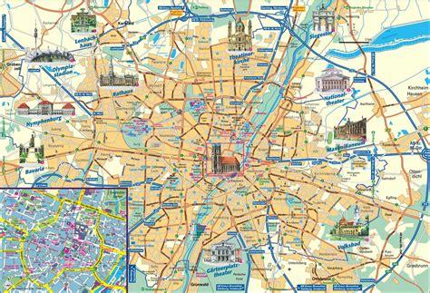 Englischer Garten München Karte Pdf by Stadtrundgang M 252 Nchen Karte Filmgroephetaccent