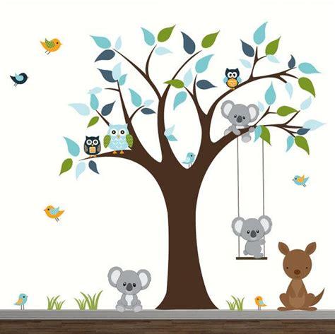 stickers repositionnables chambre bébé bébé crèche mur stickers enfants chambre wall decor arbre