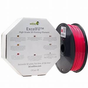 Pla 3d Druck : voltivo excelfil 3d druck filament pla 1 75mm rot zubeh r f r 3d drucker ~ Eleganceandgraceweddings.com Haus und Dekorationen