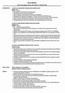 Communication Specialist Resume Talent Acquisition Operations Resume Samples Velvet Jobs