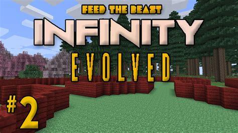 minecraft ftb infinity evolved ep 2 quot cherry house