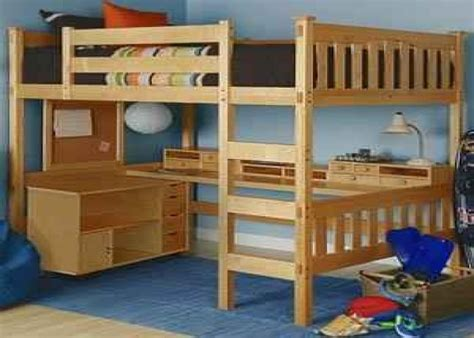 how to build a loft bed with desk plans to build a size loft bed wooden global