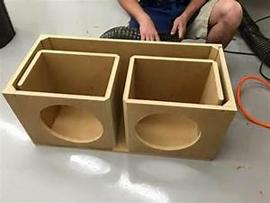 2 15 Subwoofer Box Design Best 25 Custom Subwoofer Box Ideas On Pinterest Truck