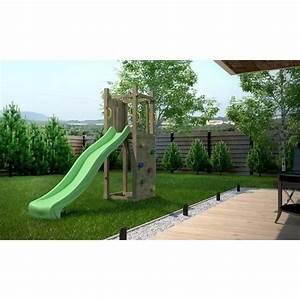 Aire De Jeux Pour Jardin : balancoire portique en bois aire de jeux tour en bois ~ Premium-room.com Idées de Décoration