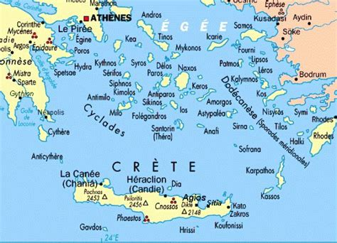 ideas  greek islands map  pinterest map