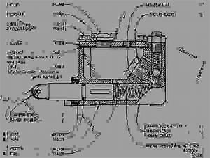 5k2783 Master Cylinder Assembly - Wheel-type Loader Caterpillar 966c