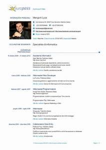 curriculum europeo europass download curriculum vitae With curriculum vitae download