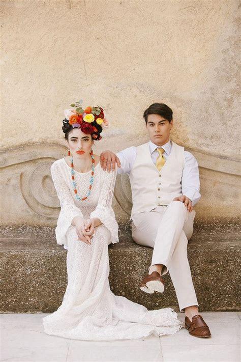 Frida Kahlo Inspired Wedding On The Amalfi Coast S T Y L