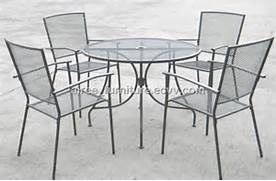 Metal Mesh Patio Dining Table by Steel Mesh Patio Furniture Home Design