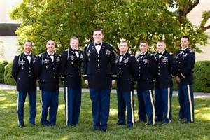 Army Dress Blue Uniform Wedding