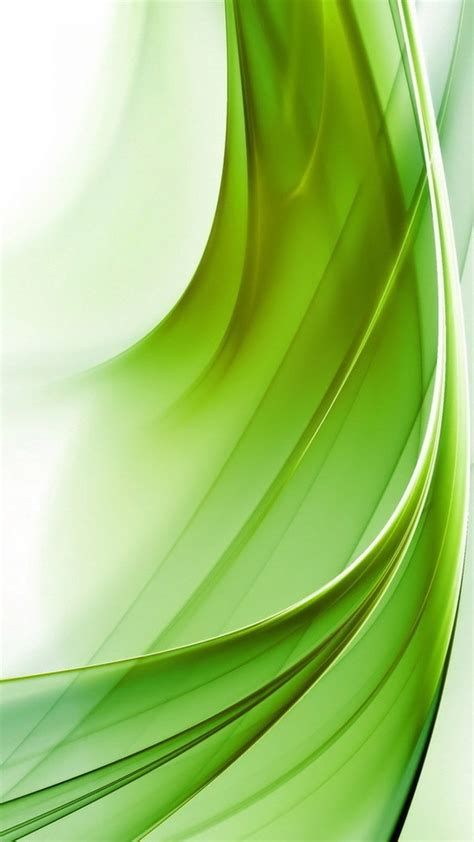 Hd Background Green Abstraction Wavy Lines Pattern Curved