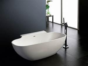 Badewanne Freistehend An Wand : badewanne freistehend an wand ~ Lizthompson.info Haus und Dekorationen