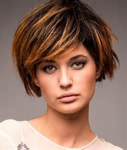 Short Brown Choppy Hairstyle