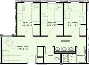 three bedroom house floor plans 26 floor plan 3 bedroom house ideas house plans 63524