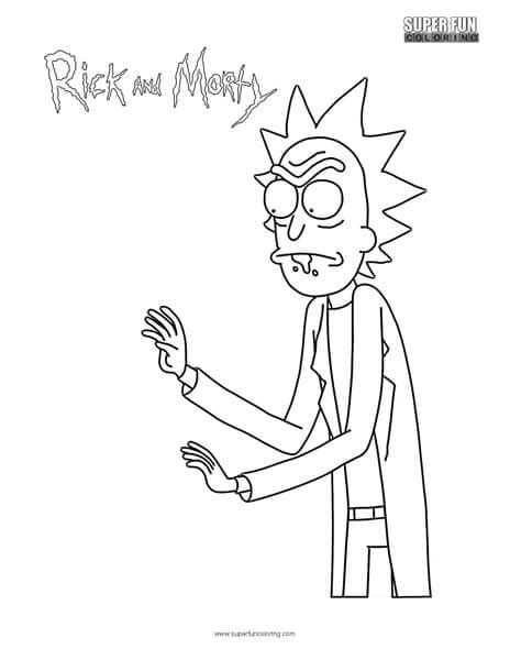 rick  morty coloring pages coloring pages