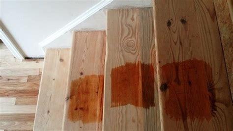 treatment  pine stair treads
