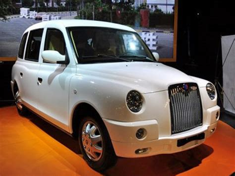 chinese company  built   luxurious london taxi