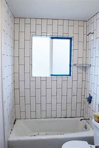how to tile How to Tile a Shower-Tub Surround, Part 2: Grouting ...