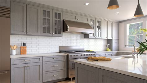 grey shaker kitchen cabinets inspiration gallery forevermark cabinetry 4088