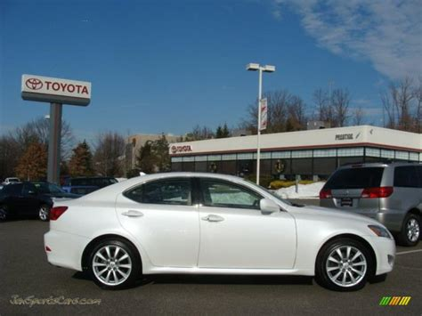 white lexus is 250 2008 2008 lexus is 250 awd in starfire white pearl 027522