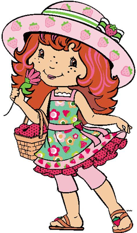 contemporary strawberry shortcake clip art  cartoon