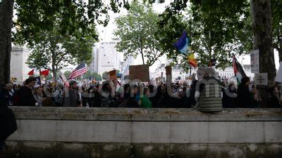 Climate Change Protesters March Along Whitehall Past The ...
