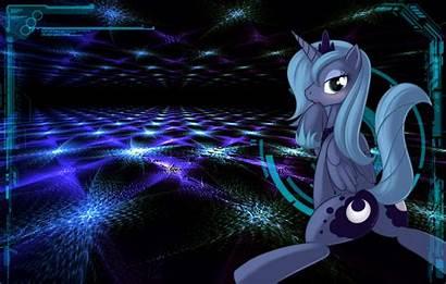 Waifu Pony Mlp Wallpapers Anime Luna Desktop