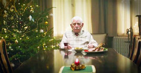 edeka christmas ad grandpa fakes  death   family