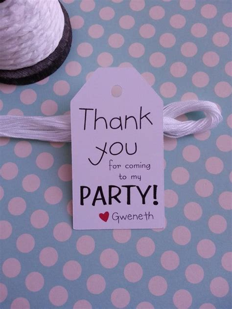 coming   party tags