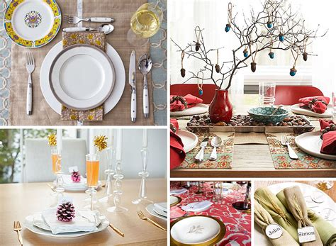 thanksgiving dinner table ideas 12 stylish thanksgiving table setting ideas