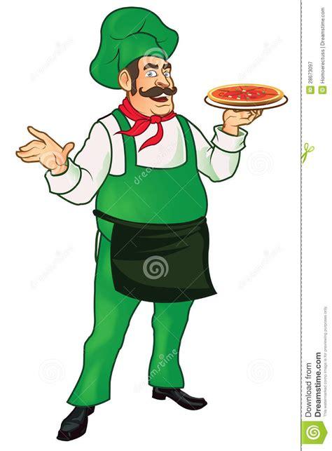 cuisine cook master master chef senior stock illustration image of pizza 28673097