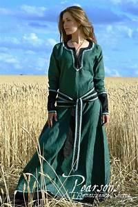 Lady Tunic Medieval Clothing Renaissance Costume