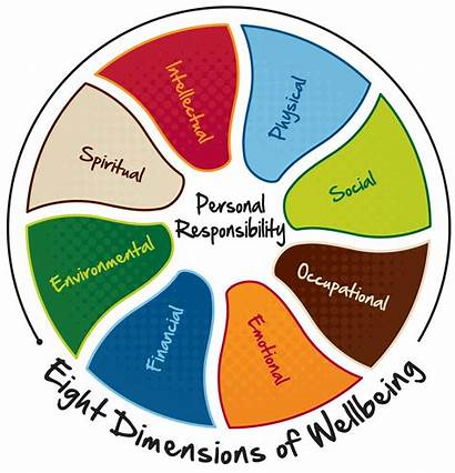 Wellness Wheel Health Social Financial Spiritual Wellbeing
