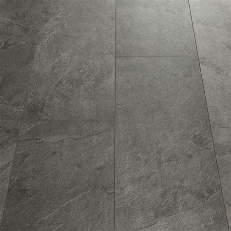 Fliesen Schieferoptik Grau by Step Livyn Tile Grey Slate Luxury Vinyl Tile
