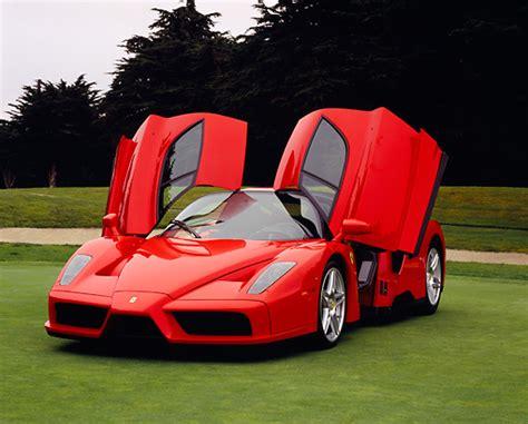 Ferrari Doors Open