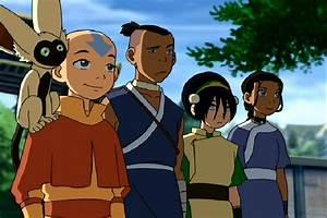 Aang, Toph, Katara and Sokka vs Azula, Zuko, Mai and Ty ...