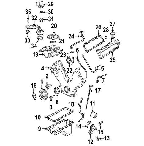 Ford 4 0 Liter Engine Diagram by Parts 174 Ford Crossover Engine C Partnumber 2l1z8c368aa