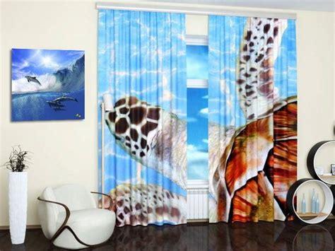 custom photo curtains adding digital prints  kids room
