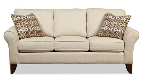 Transitional Small Scale Sofa By Craftmaster Wolf And