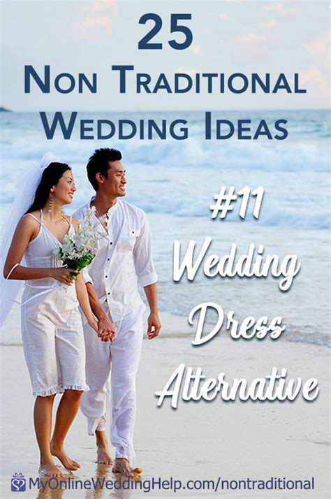 35 Non traditional Wedding Ideas You May Not Have Thought